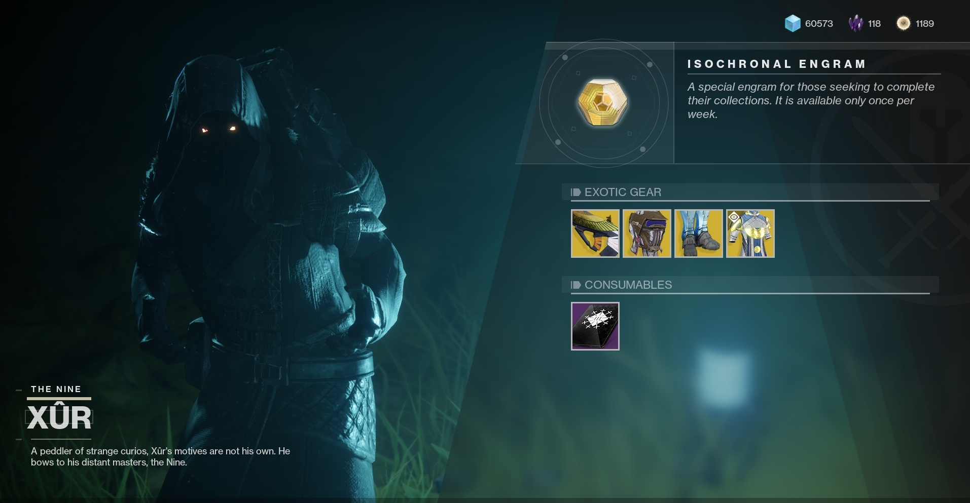 Xur is selling one of Destiny 2's best PvP weapons this weekend