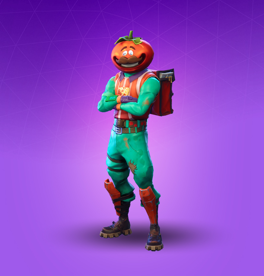 Tomatohead Fortnite skin