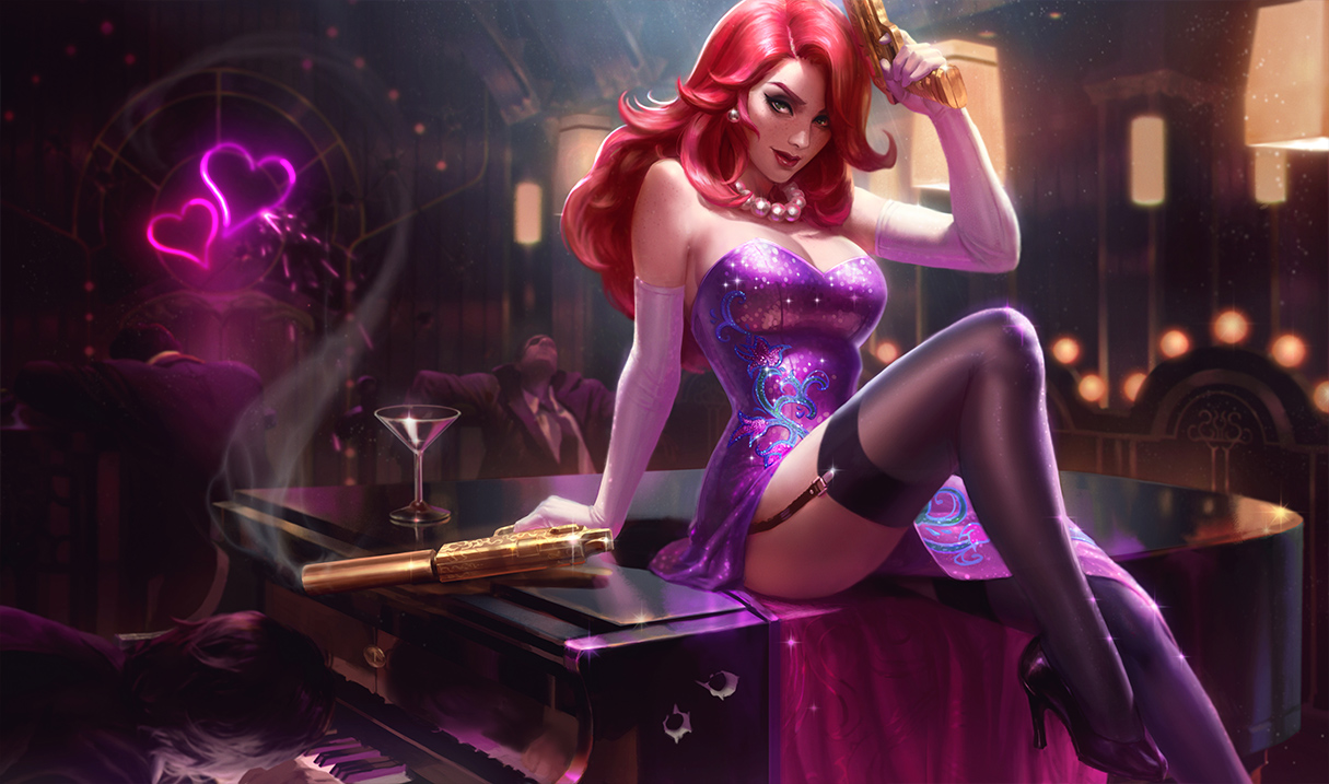 Miss Fortune Is Getting A Bunch Of New Splash Art Updates Dot Esports