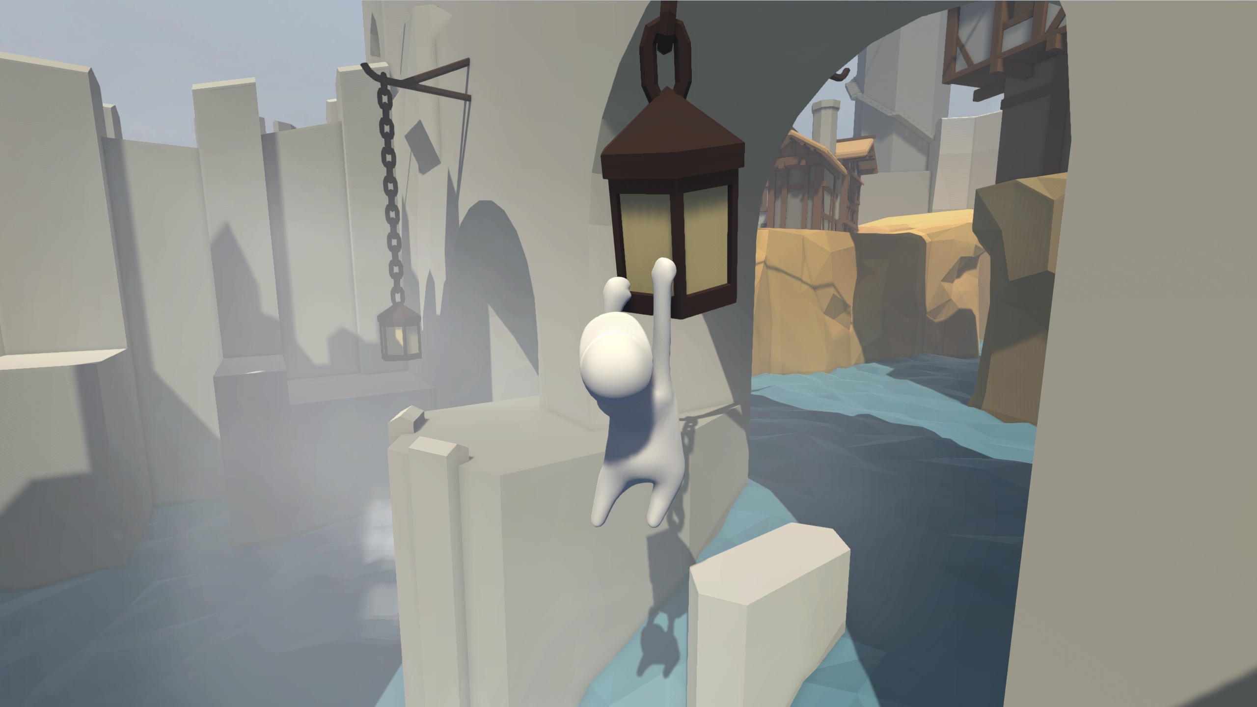 Goof around with your friends in Human: Fall Flat, a physics-based puzzle game.