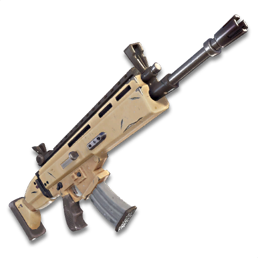 imagem via fortnite wikia - foto de todas as armas do fortnite