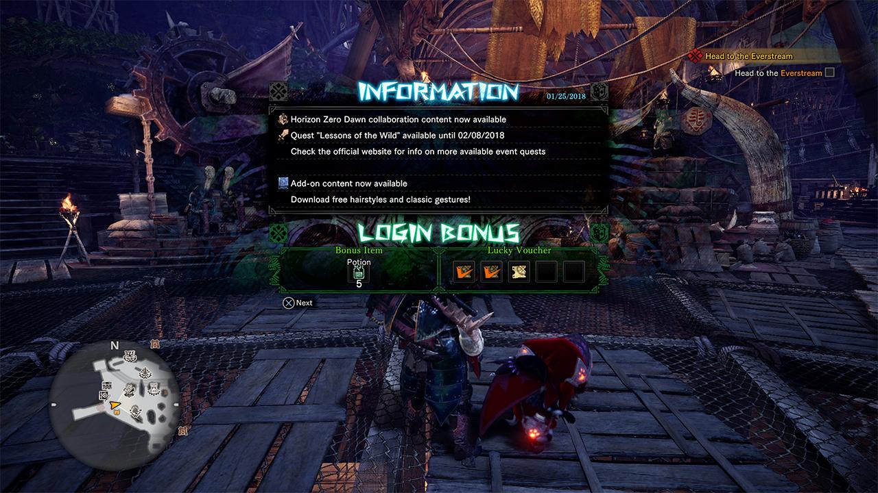 Monster Hunter: World's Horizon: Zero Dawn DLC quest is only around