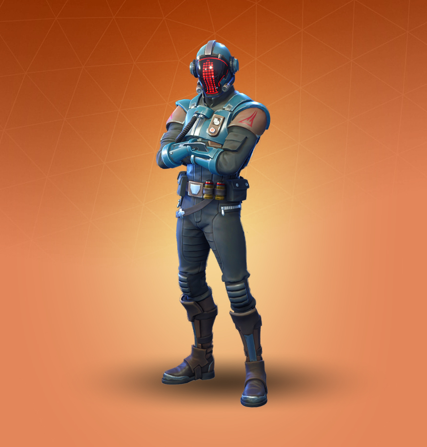 The Visitor Fortnite skin