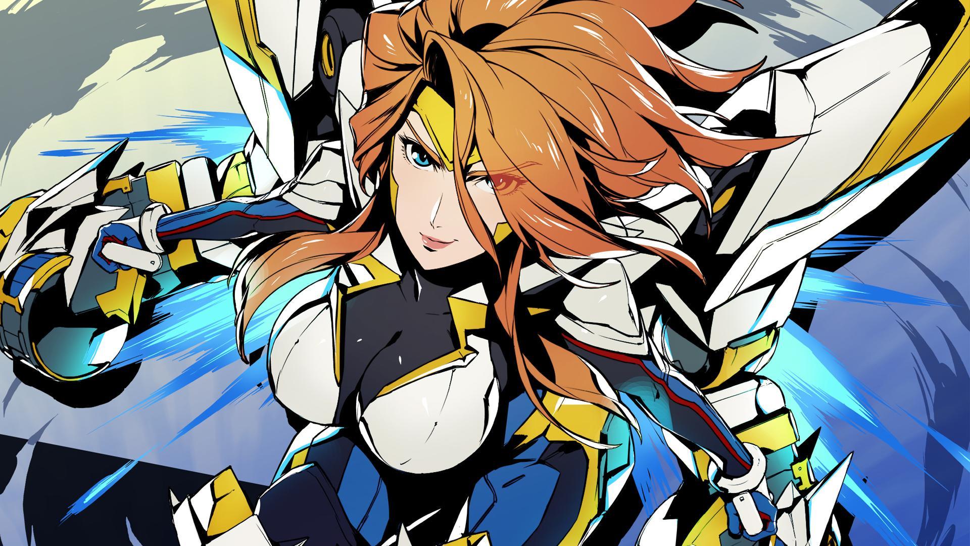 Riot Japan Has Released Anime Inspired Wallpapers Of Gun Goddess