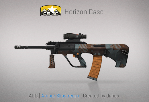 Here are all of the skins and knives in the brand-new Horizon Case