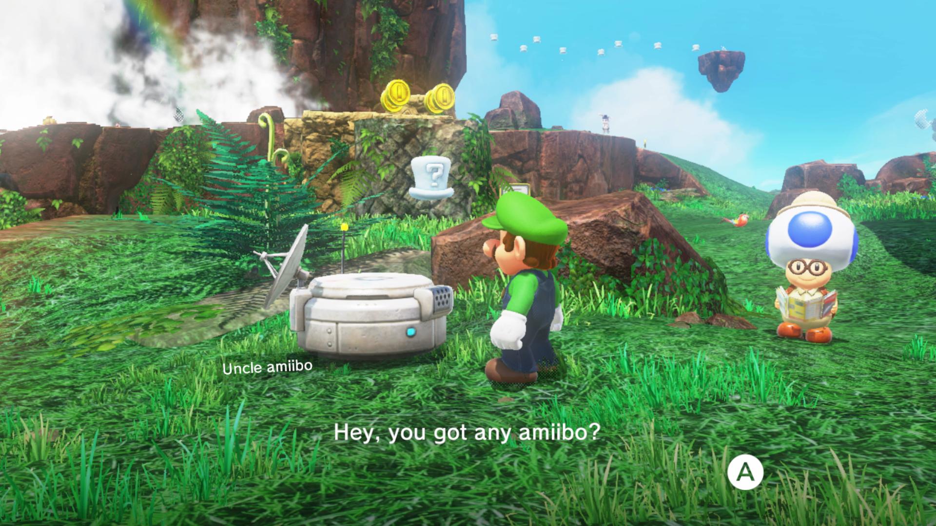 Super Mario Odyssey Amiibo Guide: What Your Amiibos Will Unlock