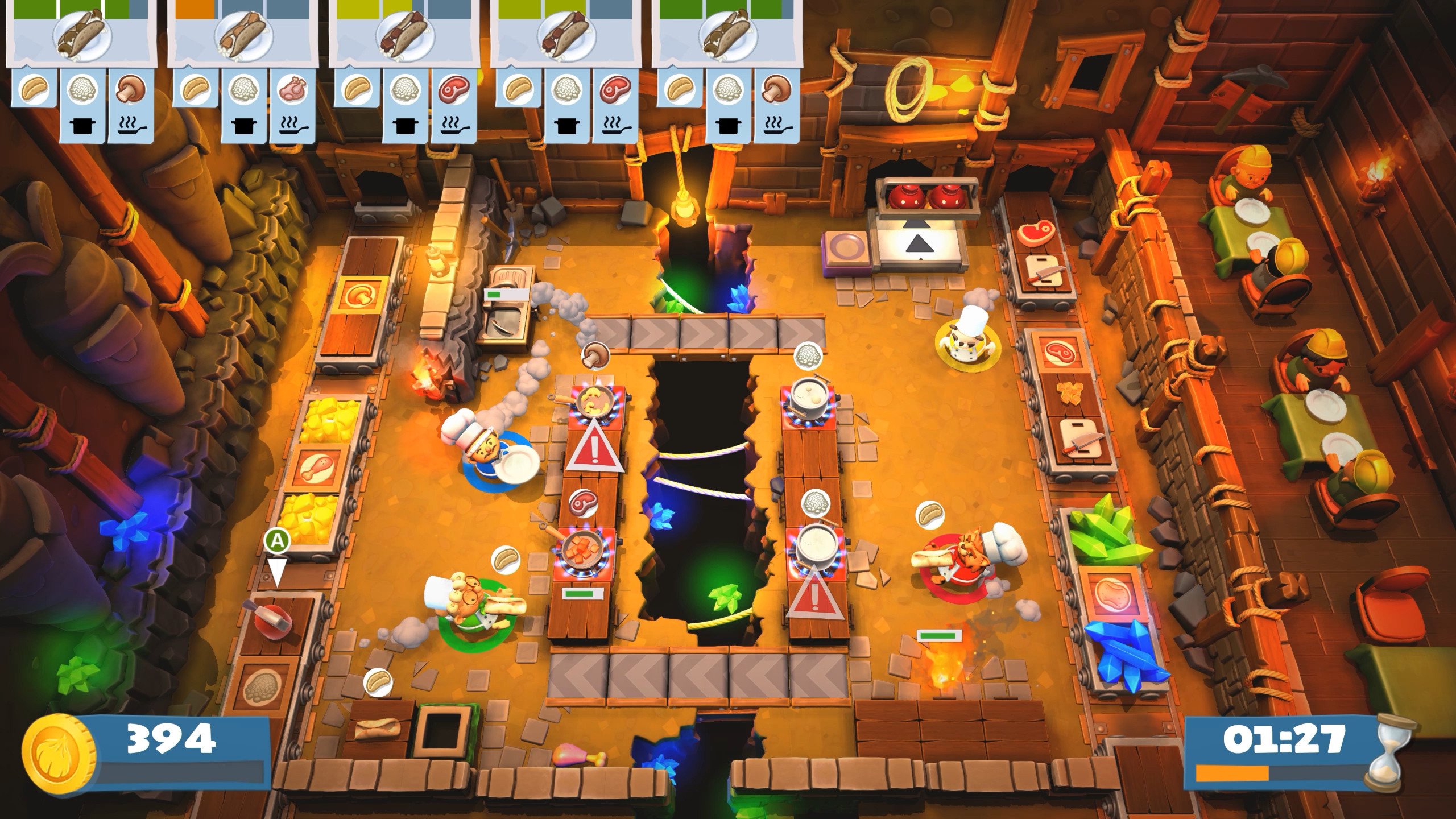 Overcooked 2 is an incredibly popular co-op kitchen experience.