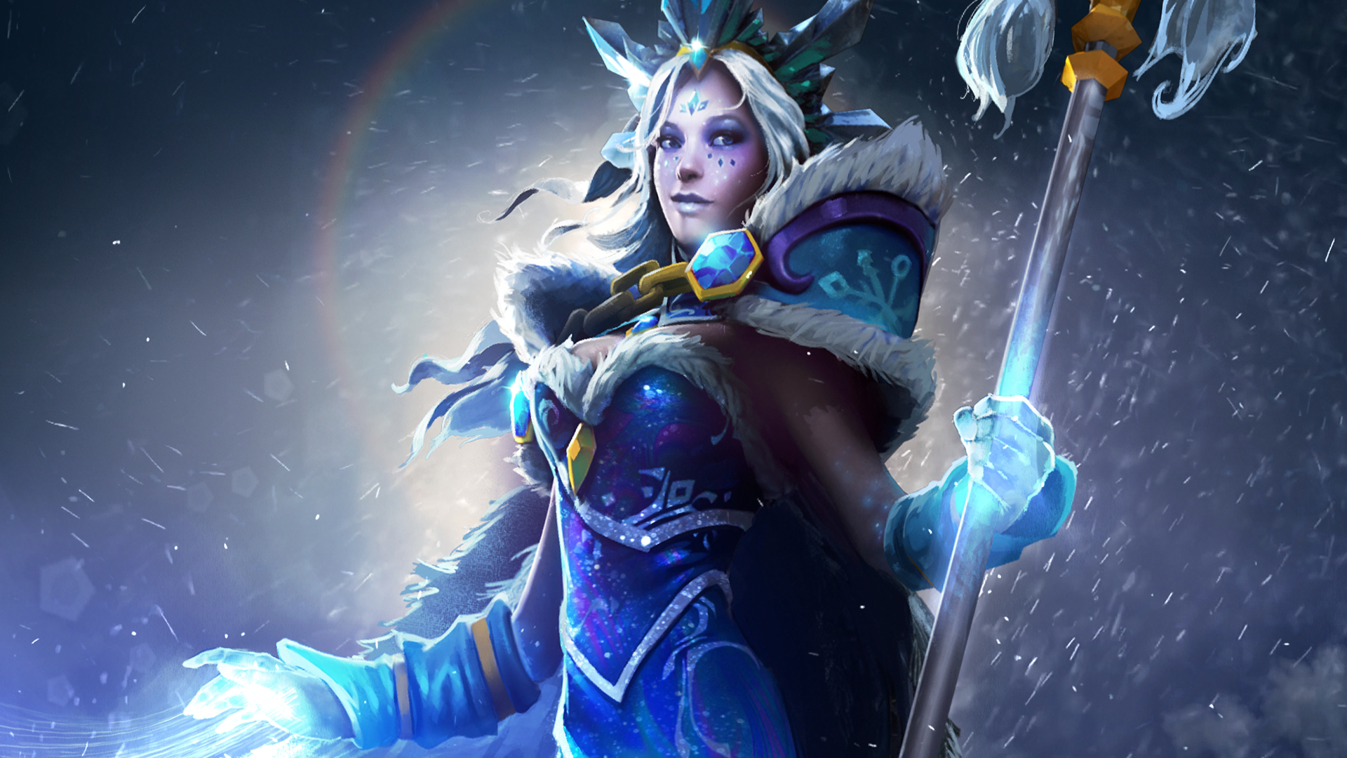 dota 2 beginner heroes crystal maiden