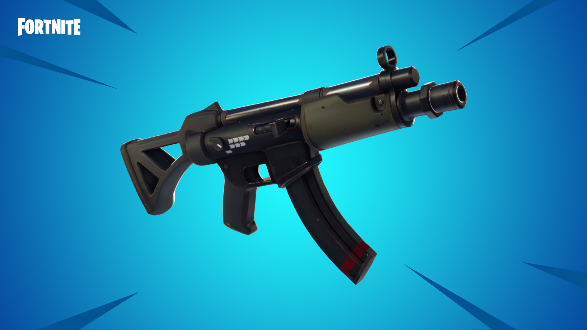 What does smg mean in fortnite