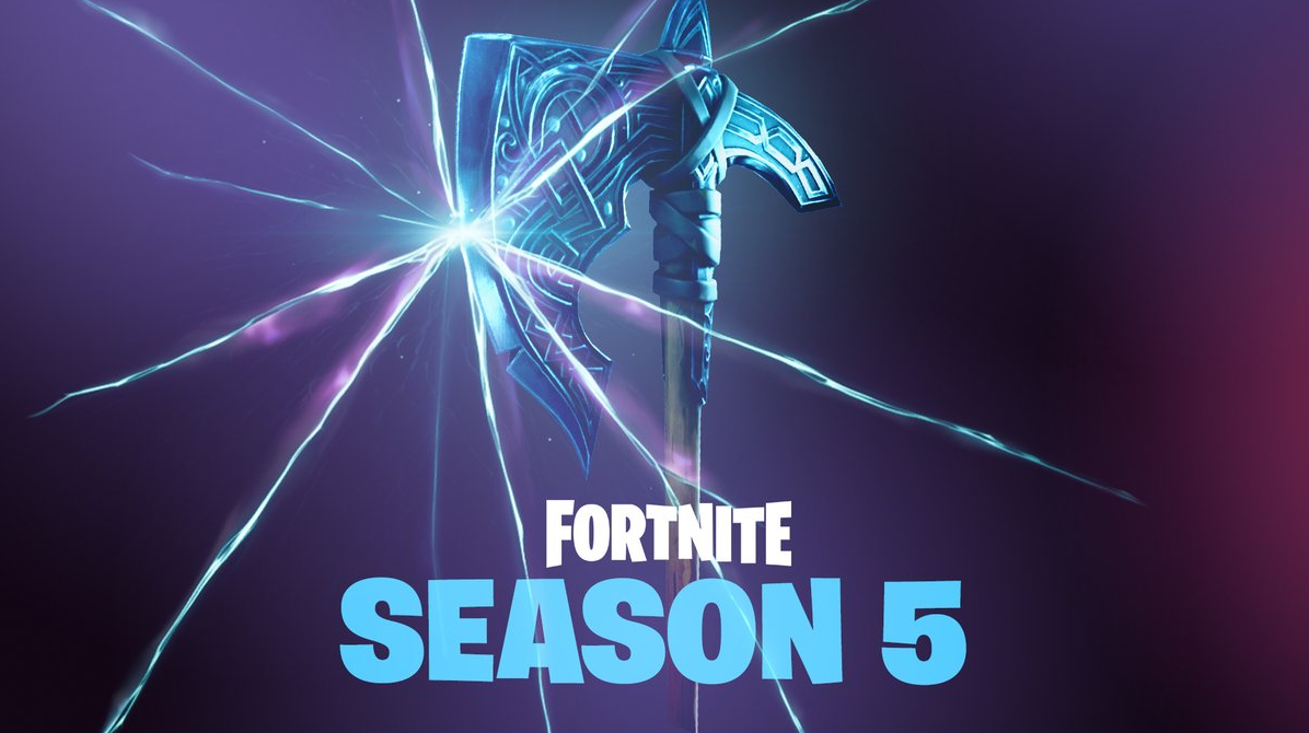 Fortnites Season 5 Teased Again With A Cool Looking Axe