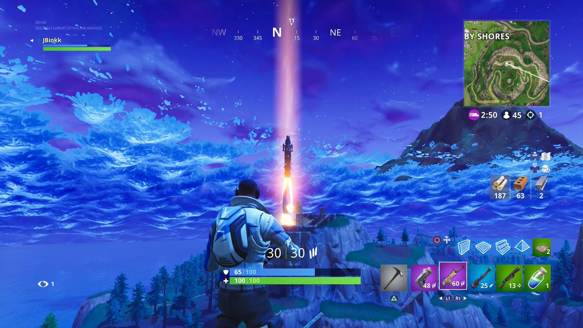 The rocket in Fortnite: Battle Royale has officially been ...