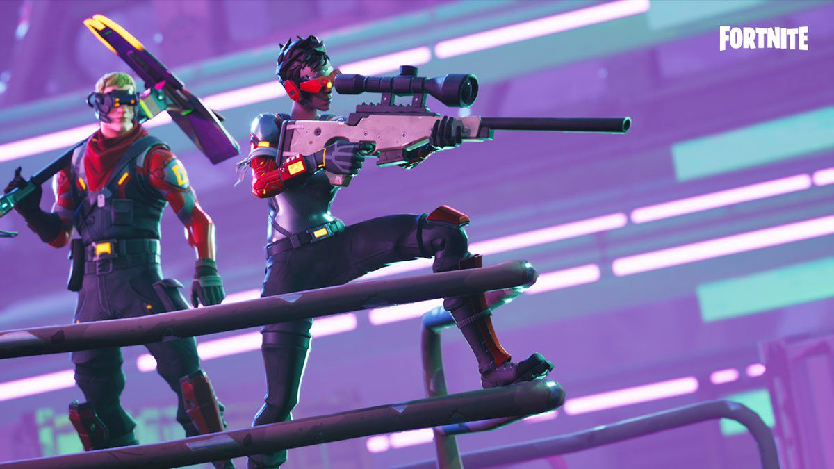 In Game Footage Of Fortnite S Upcoming Heavy Sniper Has Been Leaked