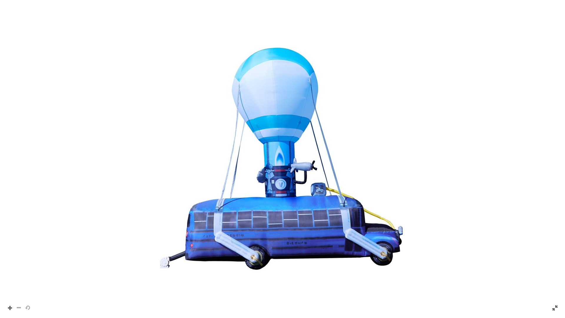 You Can Buy A 17 Feet Tall Inflatable Fortnite Battle Bus For 500