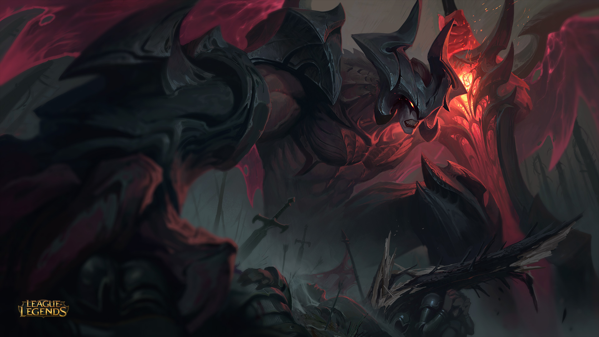 Riot Is Giving Back Aatrox S Banner Wings Dot Esports