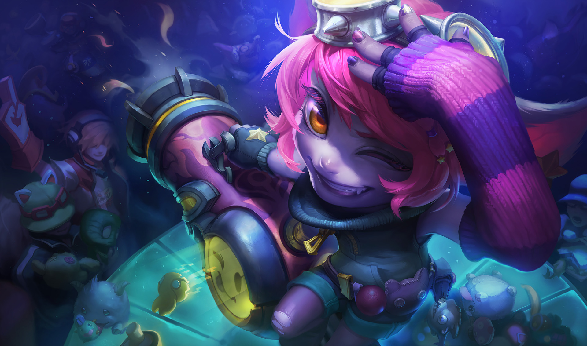 Redeem Riot Girl Tristana, Unchained Alistar, and