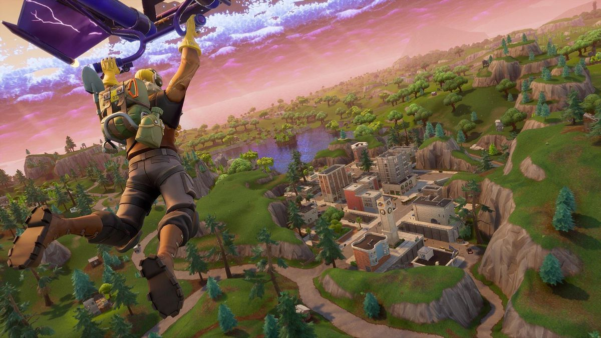 a countdown timer has appeared on tvs in fortnite s switch version - timer resolution fortnite