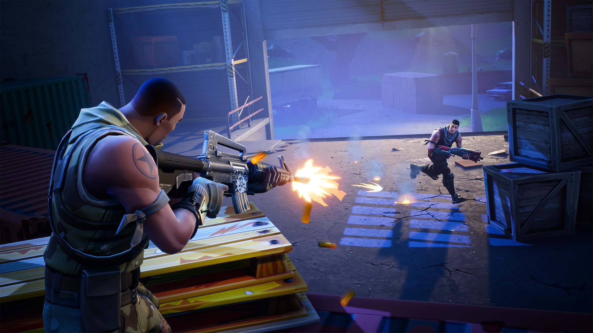 nintendo switch fortnite players will need to create a new epic games account if it s linked to a ps4 e3 2018 - e3 switch fortnite