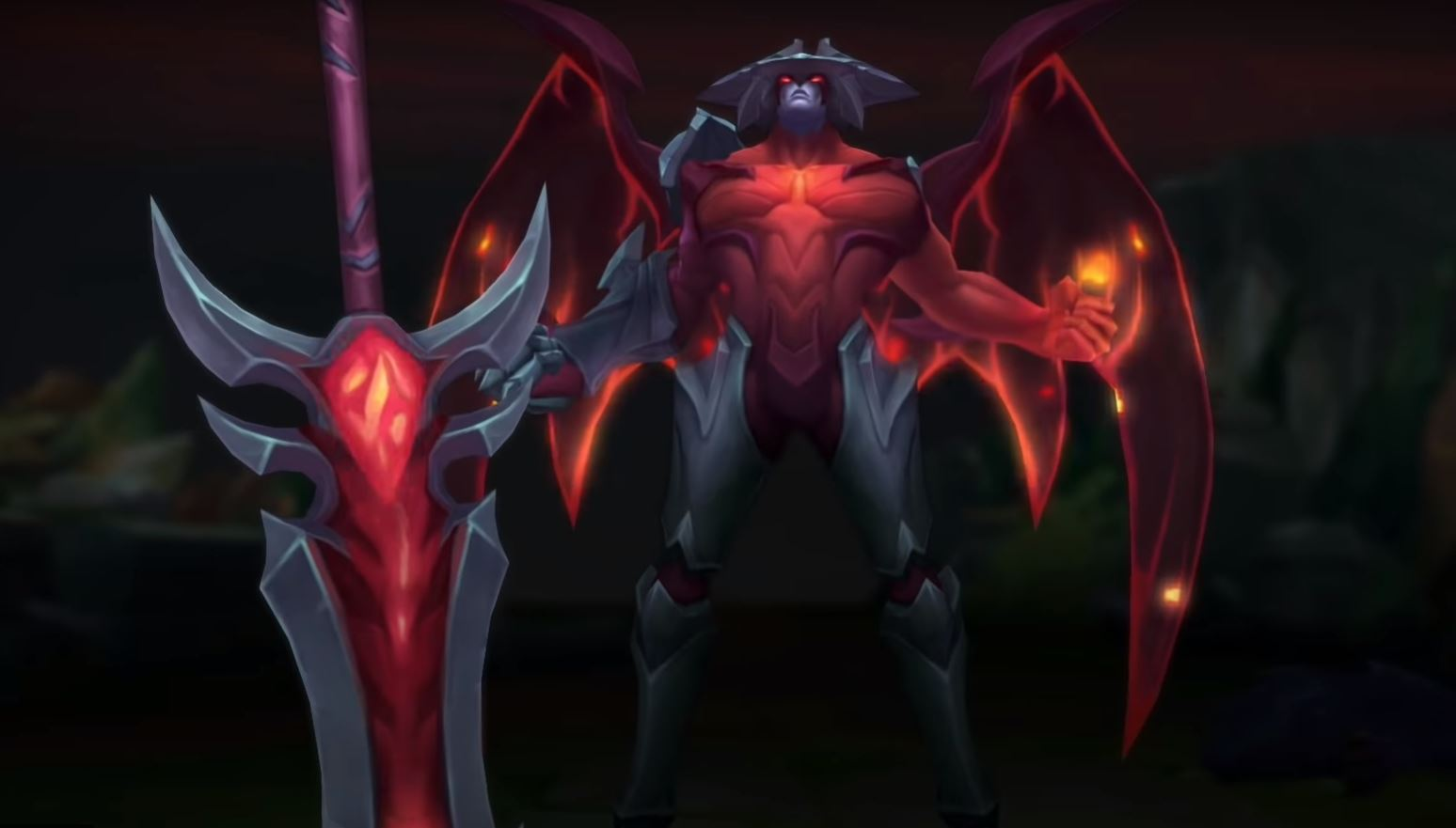 The new Aatrox is bigger, badder, and hits like a freight train