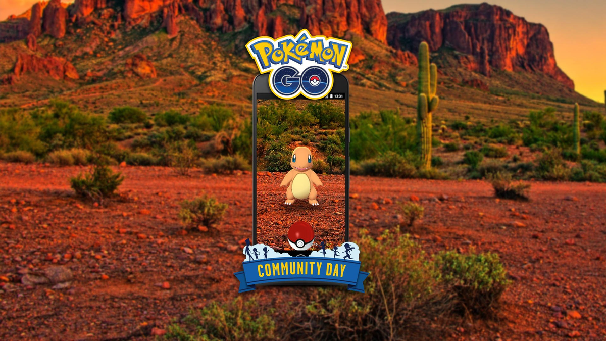 The Charmander Pokémon Go Community Day goes live tomorrow