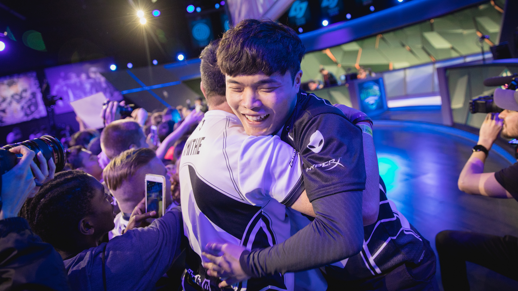 best service 31d57 1c989 Team Liquid qualify for their first NA LCS final after a crushing victory  over Echo Fox