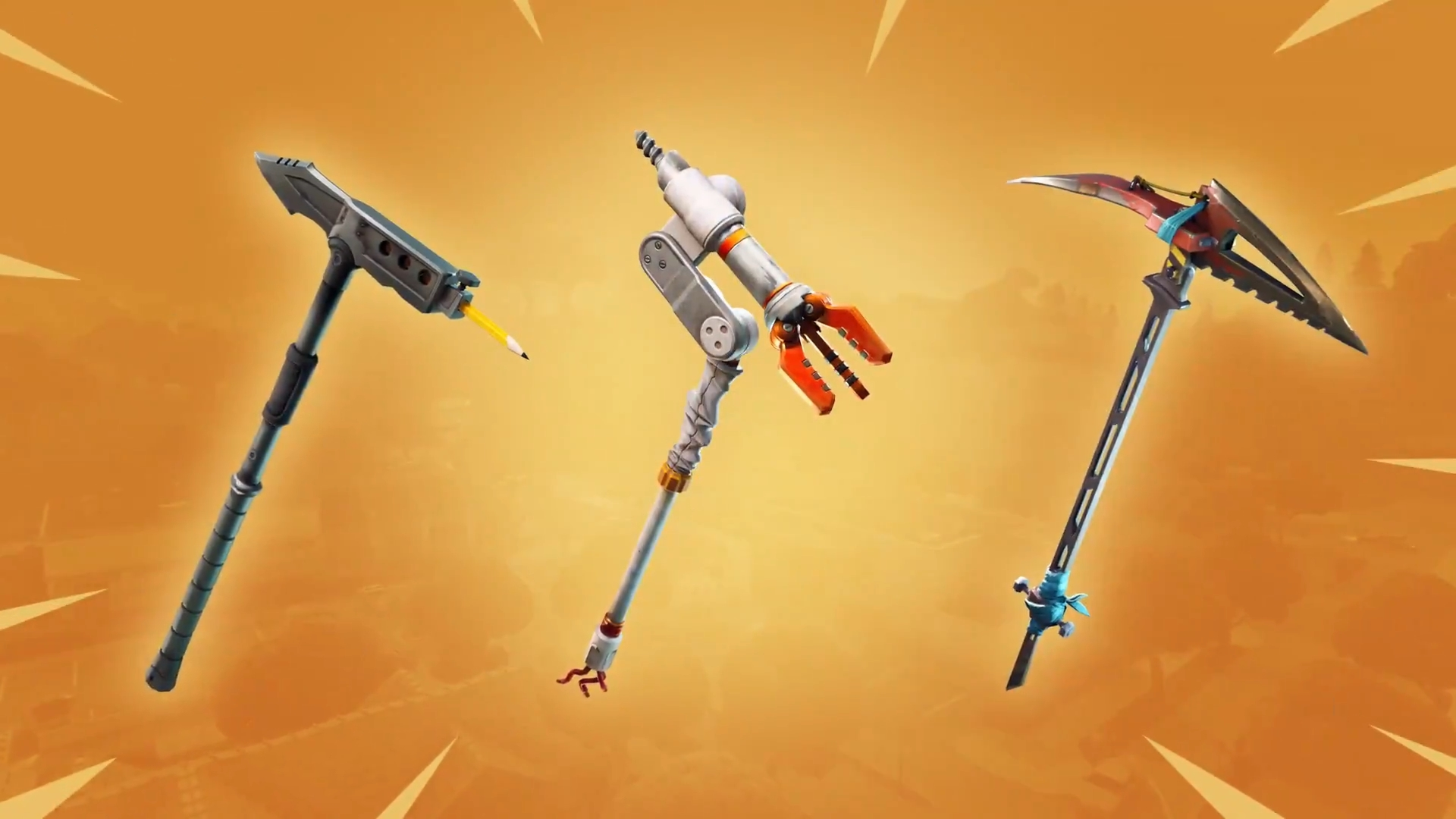 All The New Pickaxe And Glider Loot In Fortnite Battle Royale S