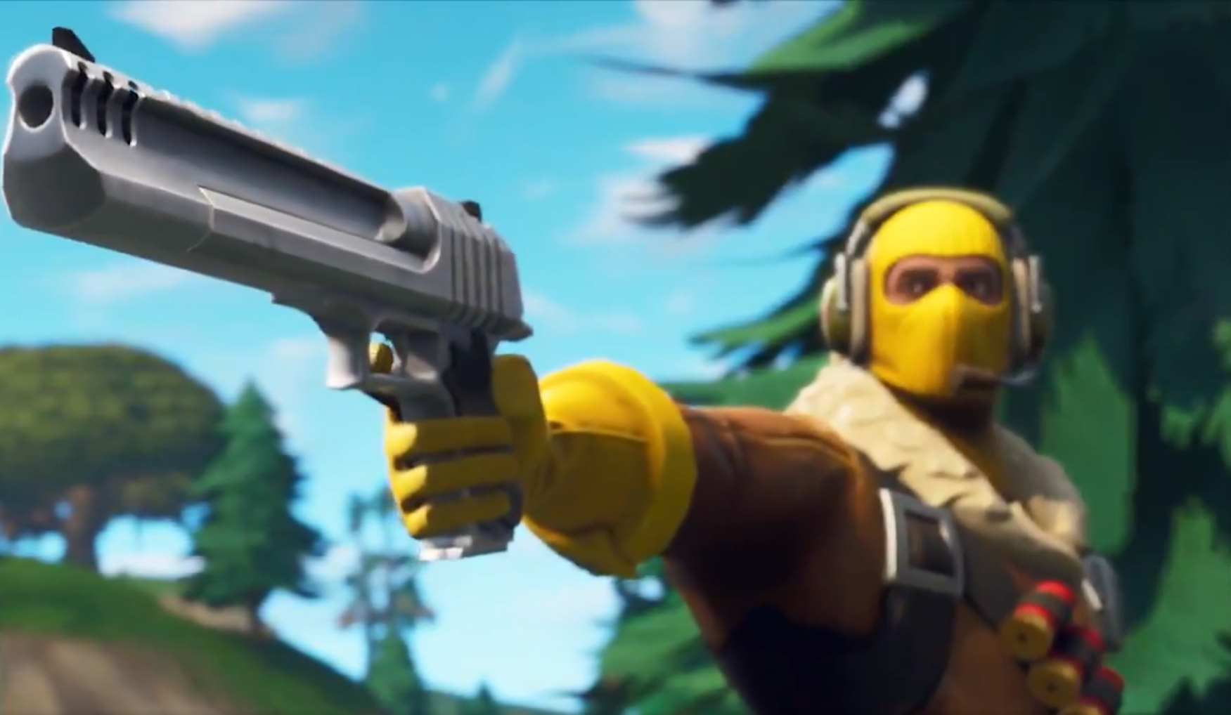 New weapon for Fortnite Battle Royale: wicking gun