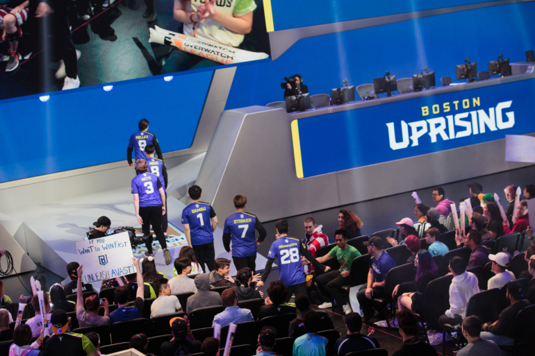 Boston Uprising Entrance