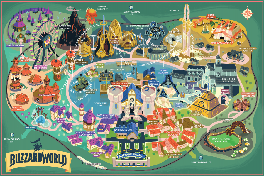 Want a real-life Blizzard World map? Here\'s where you can ...