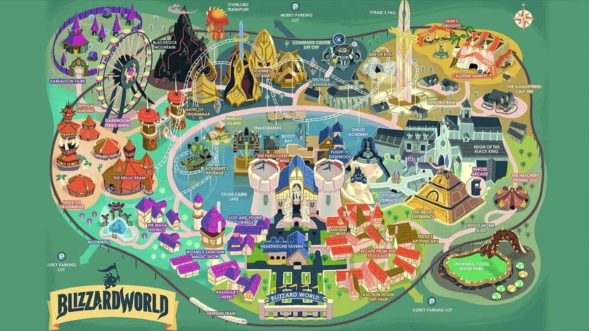 Overwatch Blizzard World Release Date New Map Arrives Next Week
