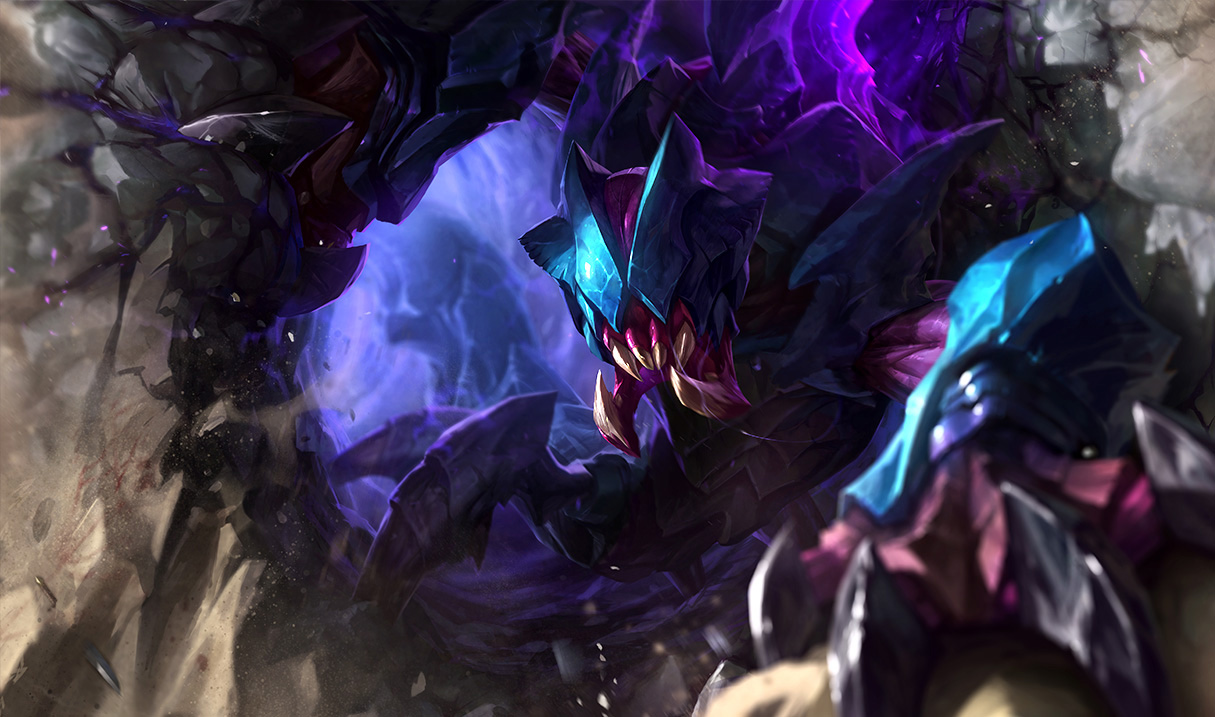 A player just hit Diamond II by maining support Rek'Sai