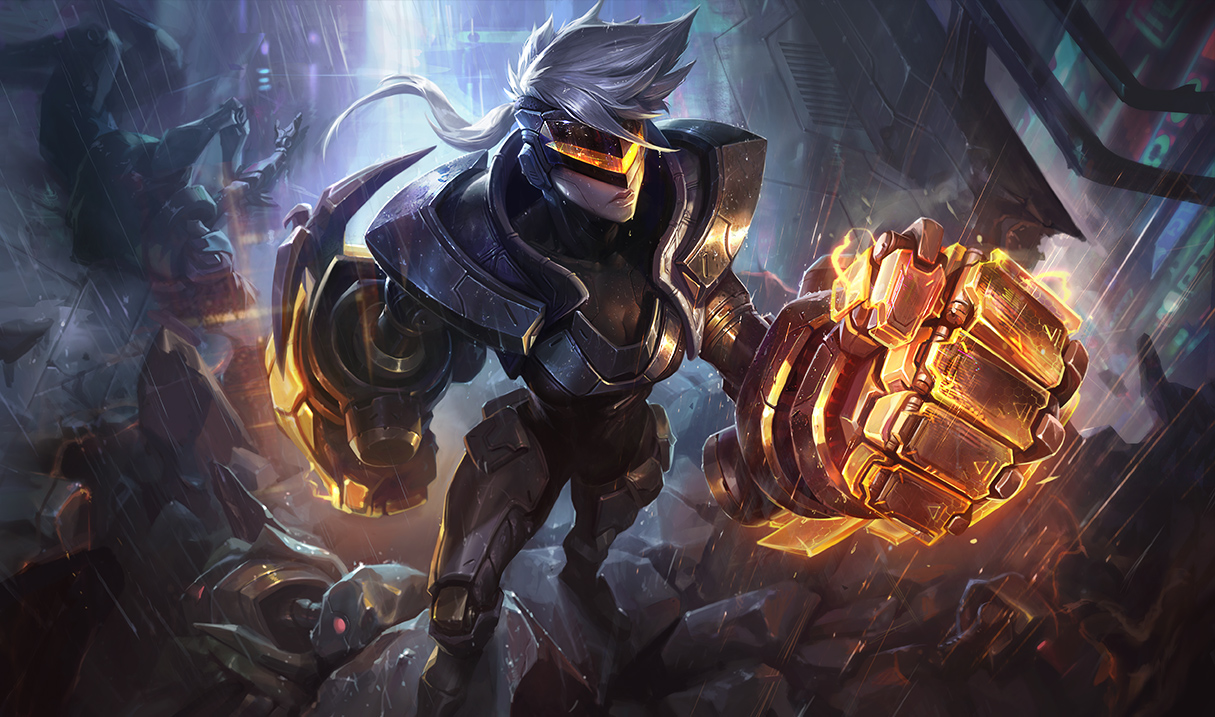 The New Project Skins Have Some Epic Splash Art Dot Esports