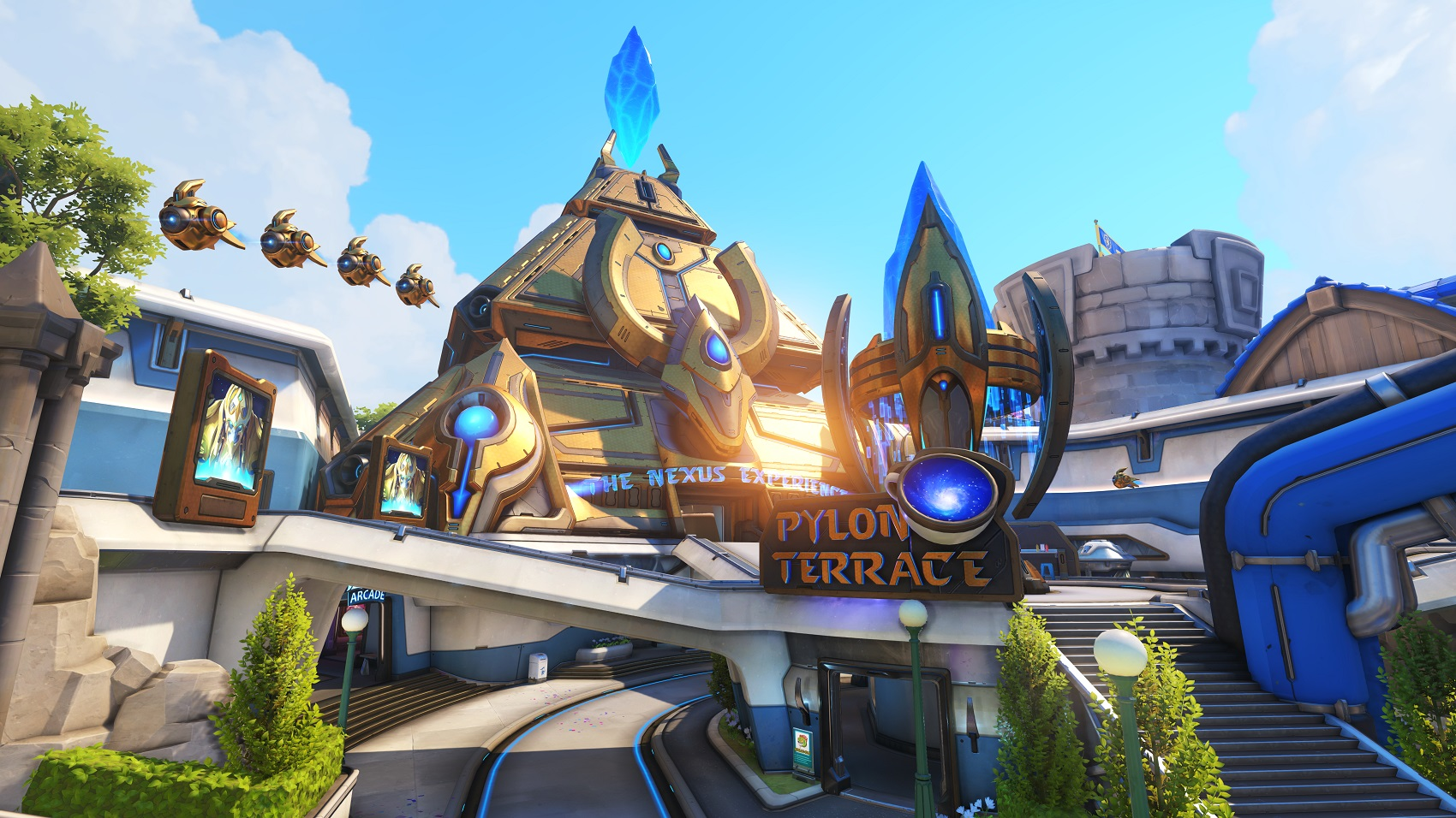 Try Out New Overwatch Map Blizzard World On The Ptr Now Dot Esports