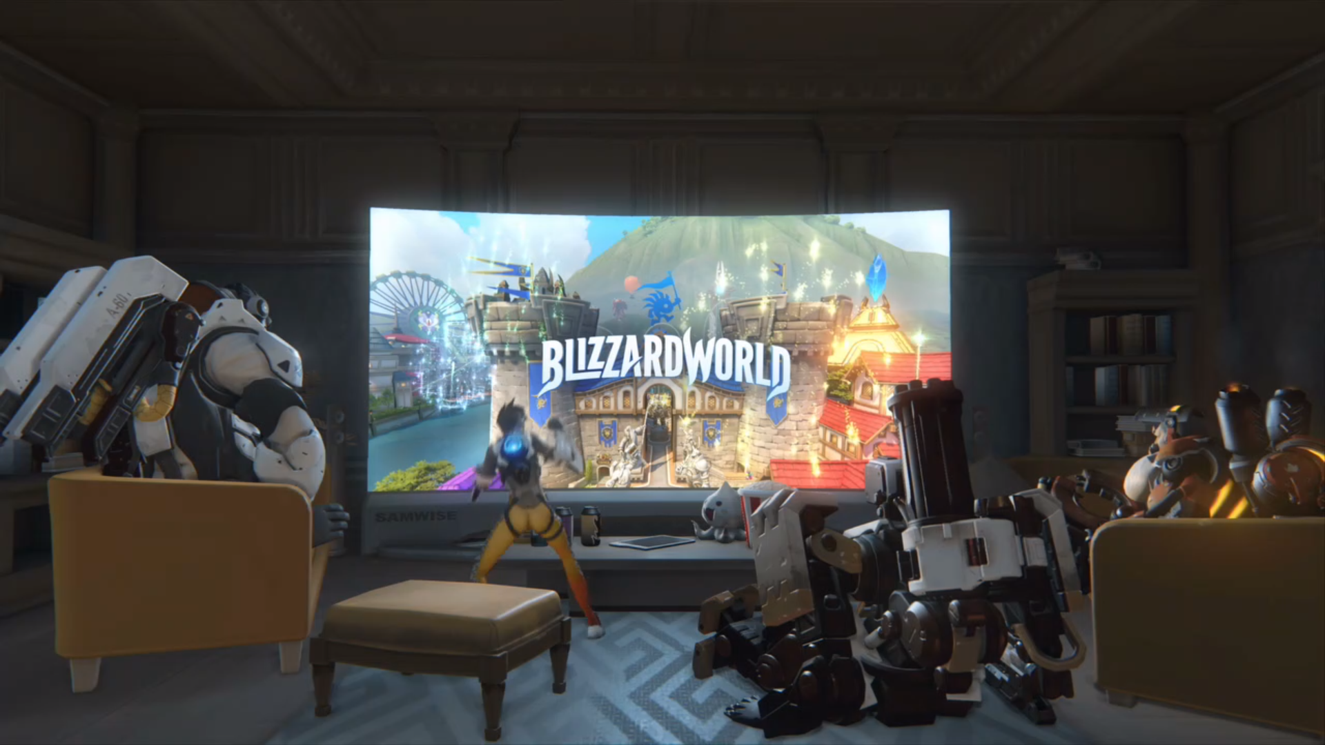 Overwatch Is Getting A Theme Park Themed Map Called Blizzard World