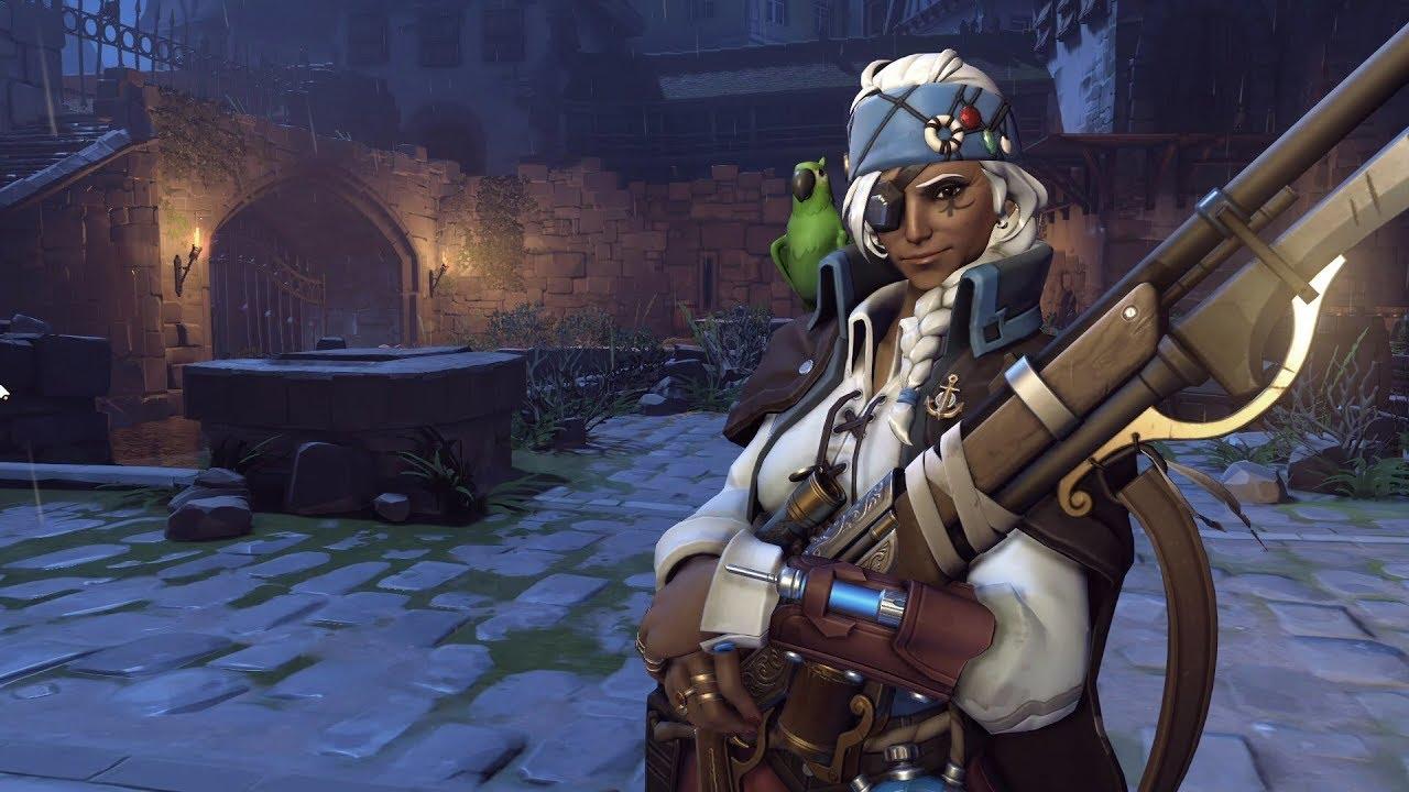 Ana Emotes hey, where's corsair ana's pet parrot? | dot esports