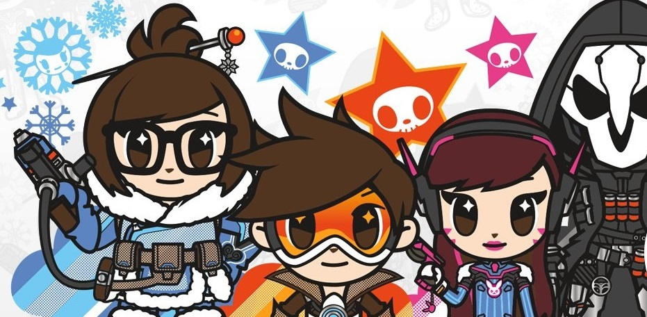 197fab88de1 Blizzard and tokidoki are pairing up for adorable Overwatch merch ...