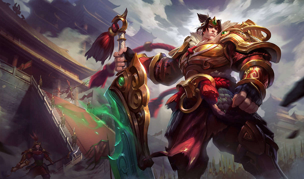 Big buffs coming to the top lane for Garen, Yorick, and Singed