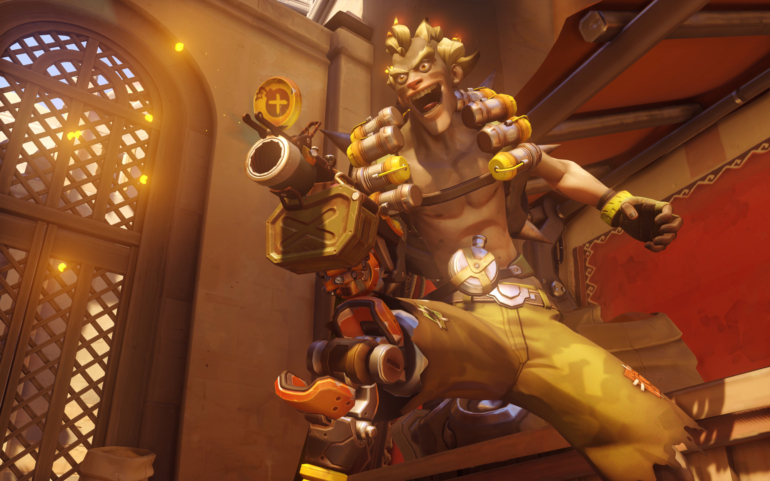 This LEGO Junkrat RIP-Tire looks pretty great—but doesn't