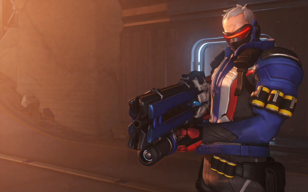 Overwatch finally adds customizable crosshairs in PTR update | Dot