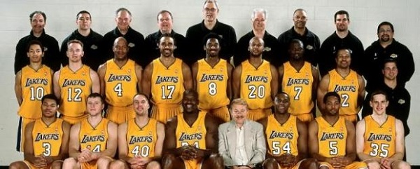 2000-01-los-angeles-lakers-roster