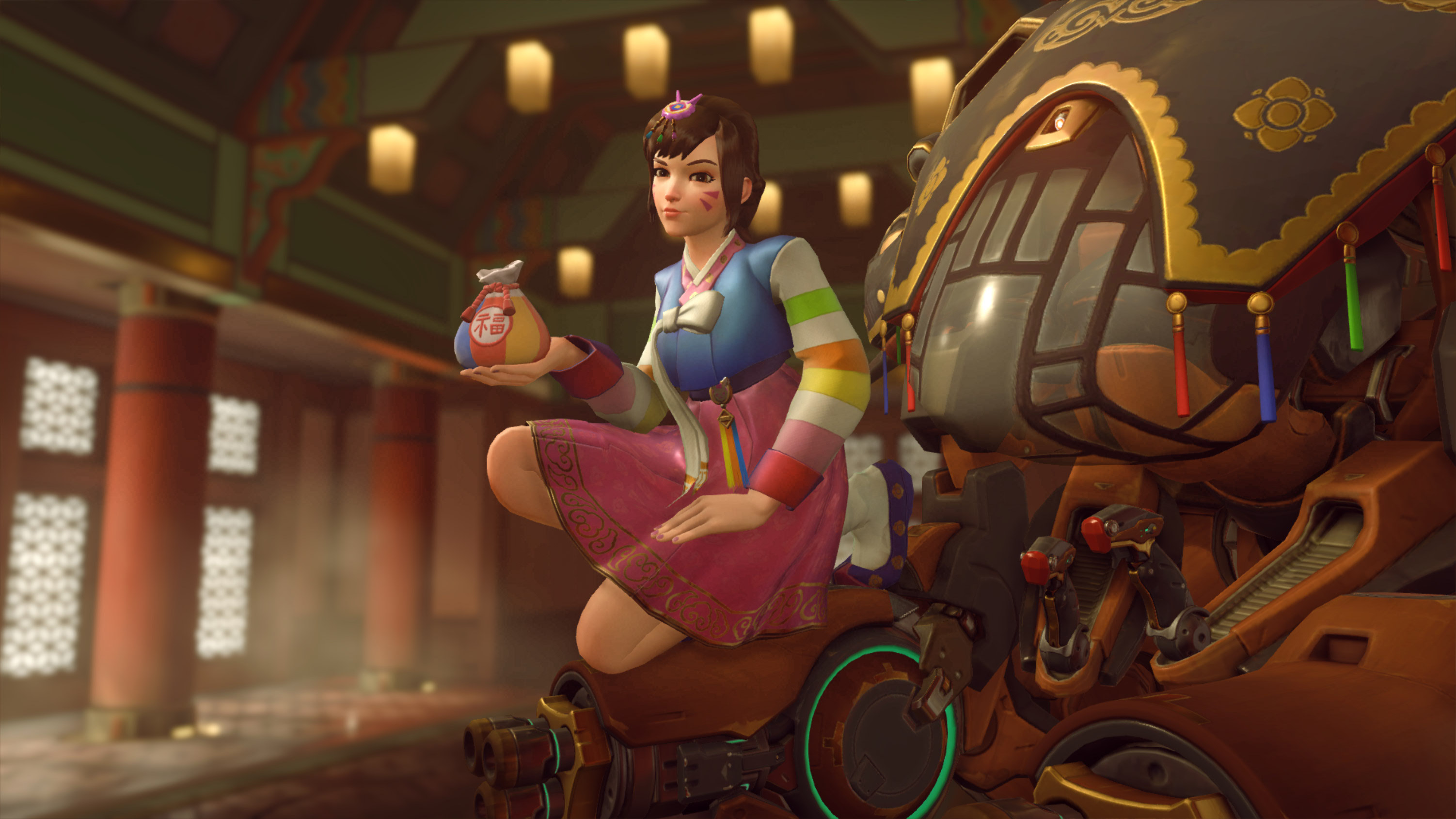 how to change overwatch voice lines to korean