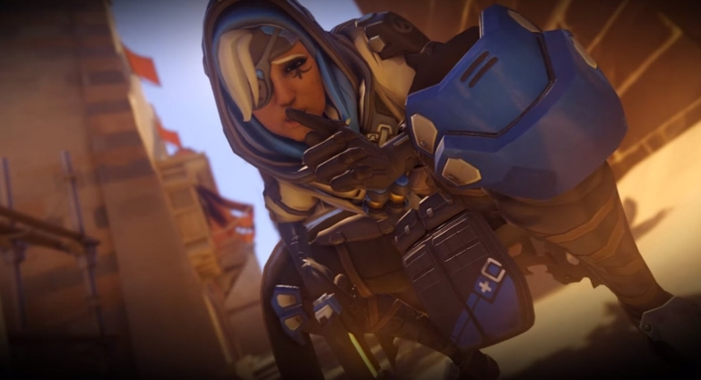 Ana's Biotic Grenade Nerfed In Overwatch Public Test Realm
