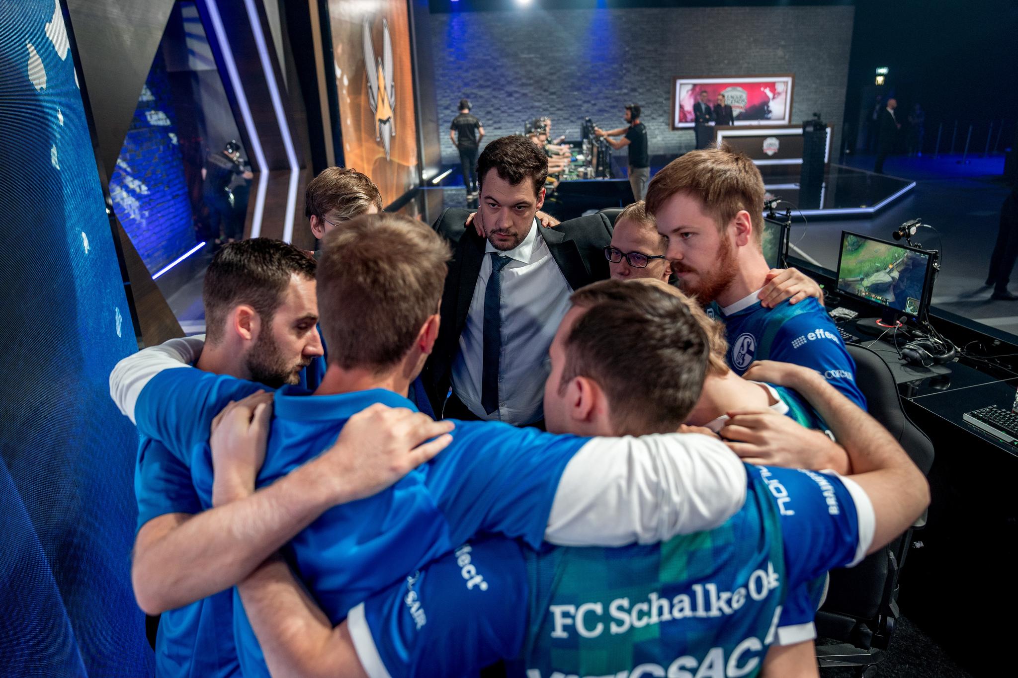 4e9fd8abc Schalke showcased the success of its League team at a recent Bundesliga game