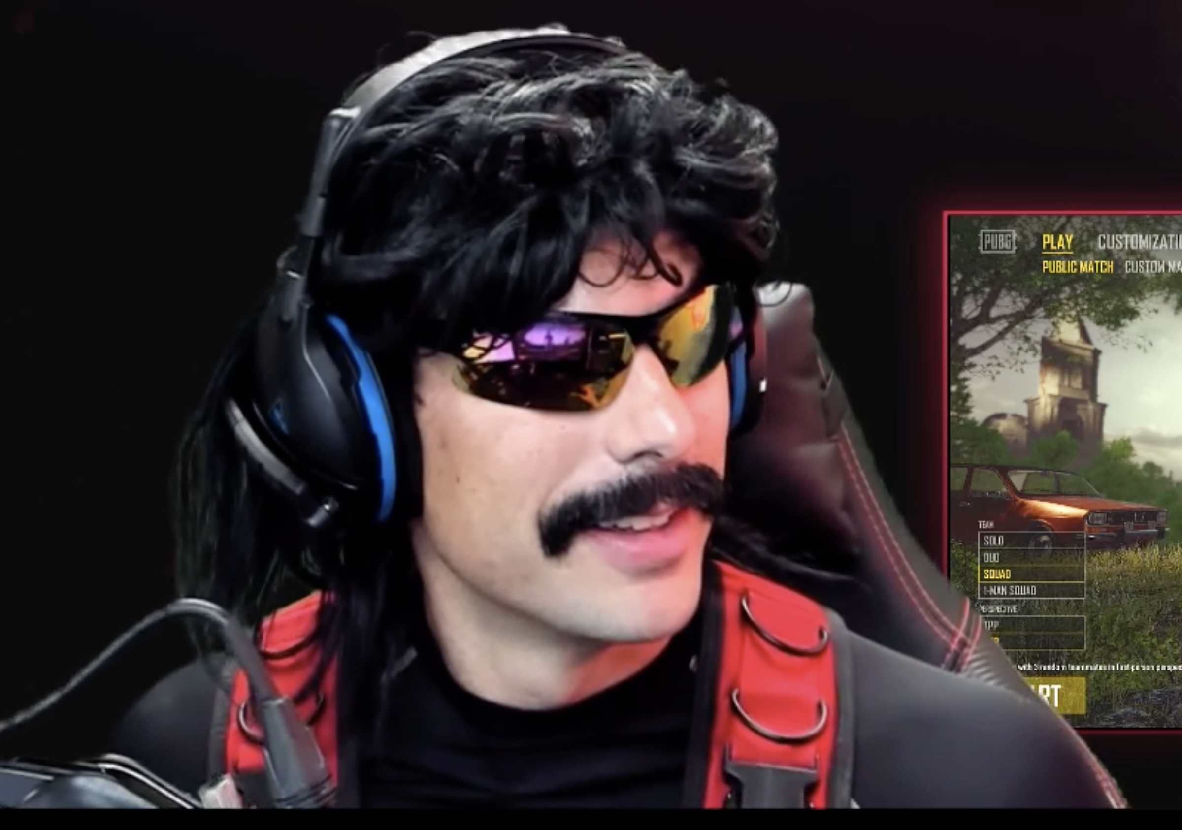Dr DisRespect complains about Twitch ad rolls promoting