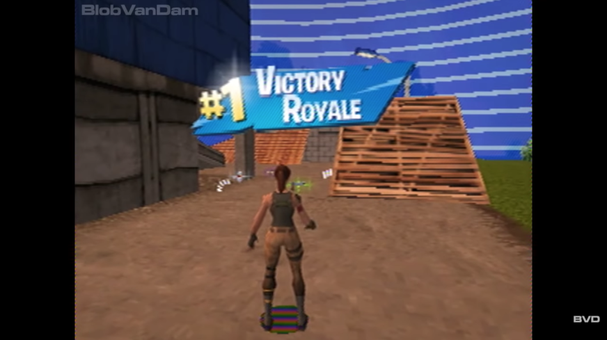 A Youtuber Has Reimagined Fortnite Battle Royale On The