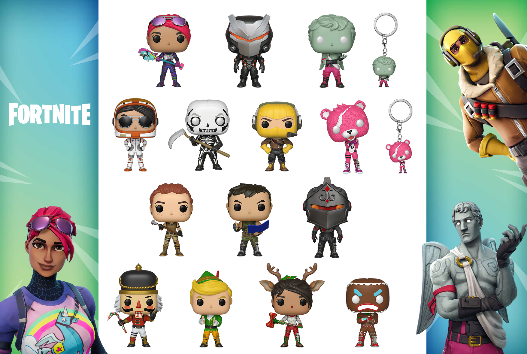 14 Official Fortnite Funko Pop Toys Have Been Revealed