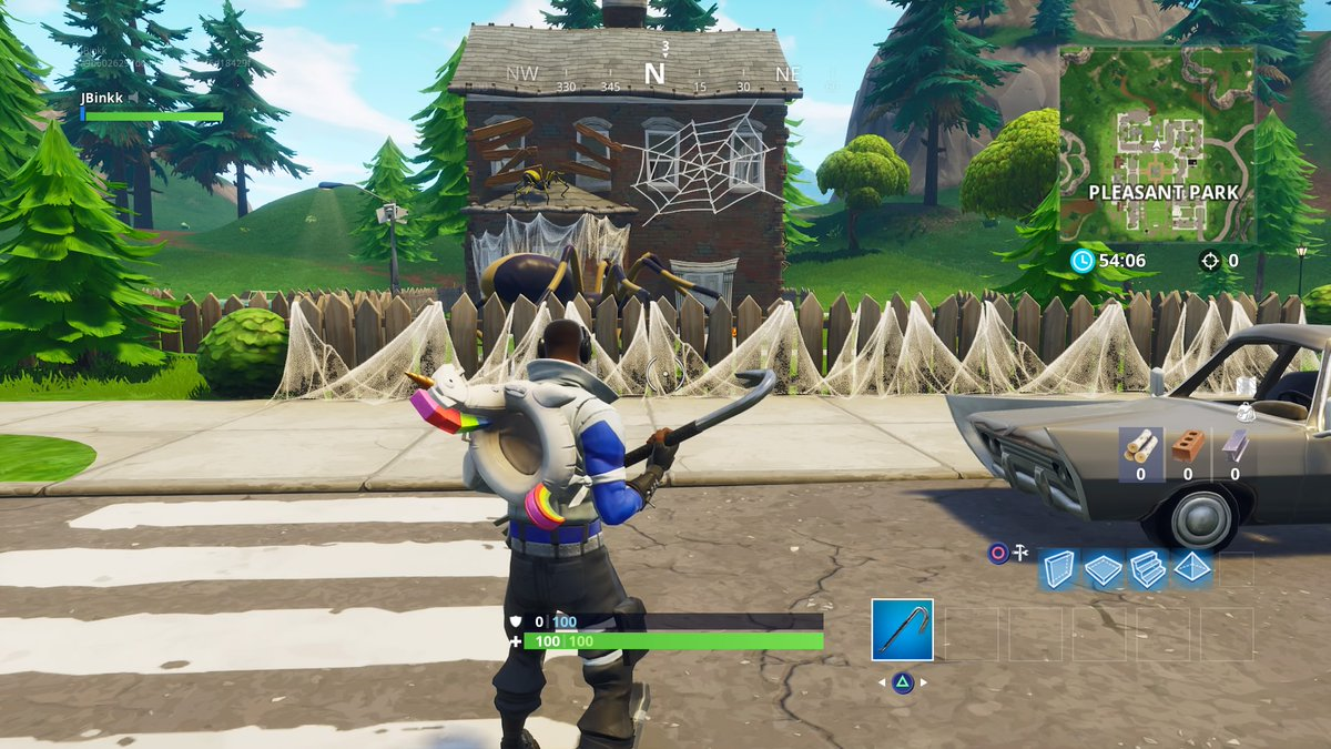 Halloween Decorations Have Begun Popping Up Around The Fortnite Map