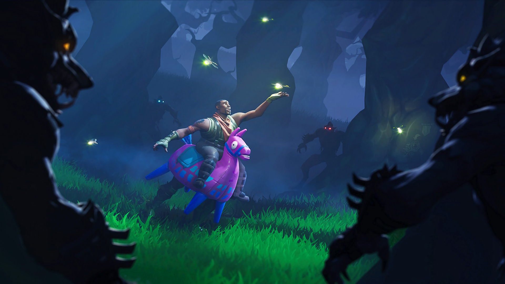 scarecrows and cube themed cosmetics found in latest fortnite - fortnite arka plan hd