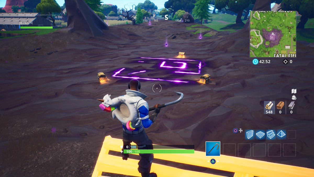 Fortnite: Corrupted Areas Location Guide (Season 6)   Dot Esports
