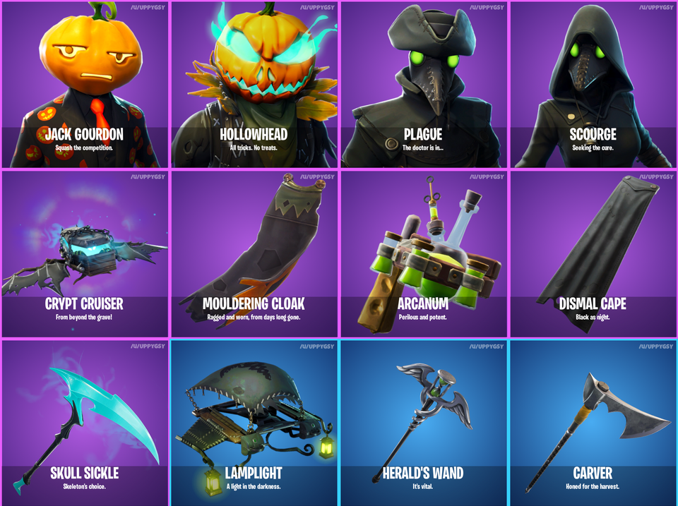 Leaks confirm new Halloween-themed cosmetics in Fortnite | Dot Esports