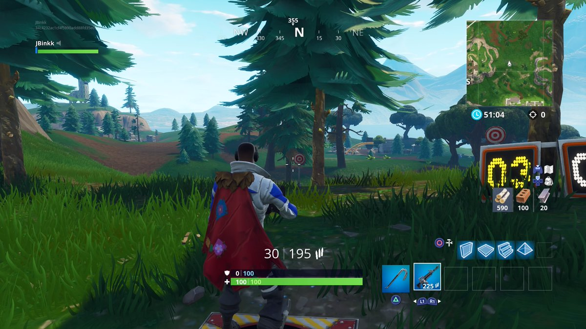 All Of The Shooting Gallery Locations In Fortnite Season 6 Dot Esports